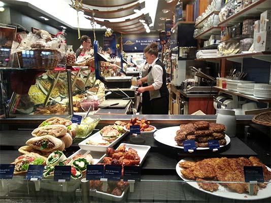 Lindner Esskultur local de comida para llevar en Berlín