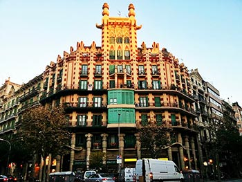 Un paseo por los chaflanes desconocidos de barcelona viajando por - Casas de musica en barcelona ...