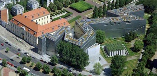 Museo Judío de Berlín Vista Aerea