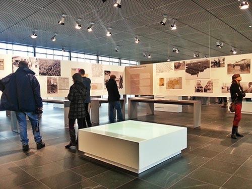 Exposición interior de Topografía del Terror, Berlín