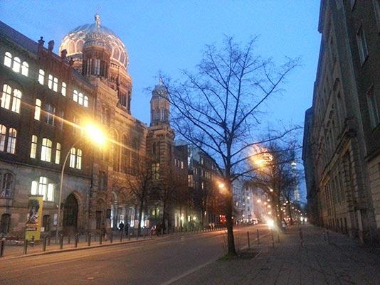 Sinagoga Nueva y el barri judío de Berlín