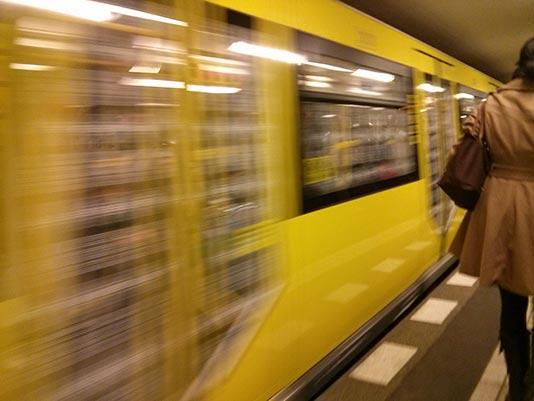 Estación del U-Bahn en Berlin