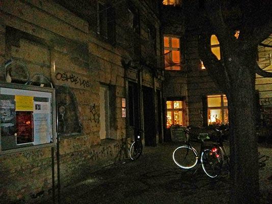 Edificios destruidos por la guerra en Berlín