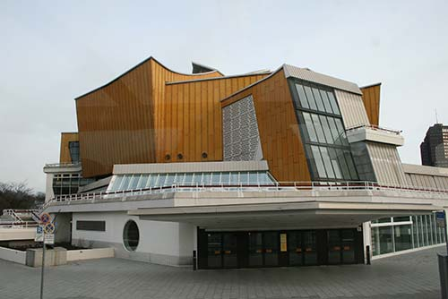 Kammermusiksaal Berlin en el Kulturforum