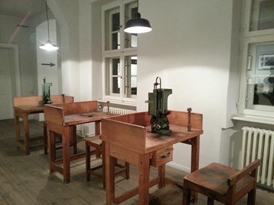 Interior del Museum Blindenwerkstatt Otto Weidt