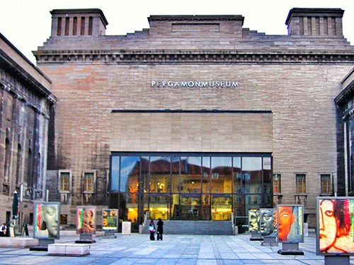Entrada del Pergamonmuseum Berlin