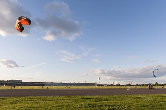 Pista del Aeropuerto de Tempelhof Berlín