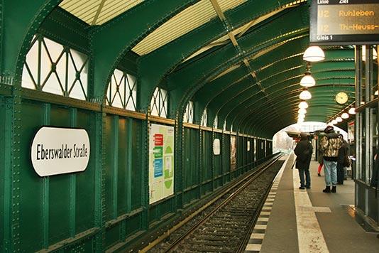 Estación del S-Bahn en Berlín