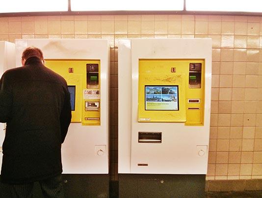 Máquinas expendedoras del metro de Berlín