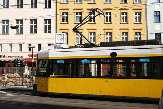 Tranvía en Berlín