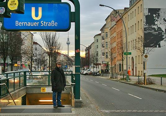 Estación de Bernauer Strasse en Berlín