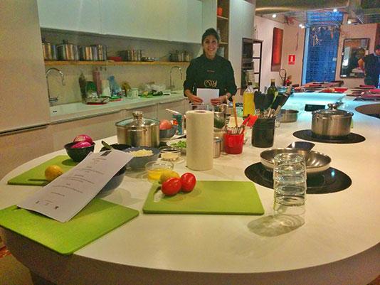 Los mejores planes de chicas en barcelona viajando por - Escuela cocina barcelona ...