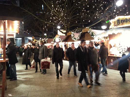 Kurfürstendamm en Navidad