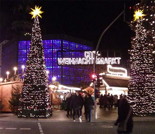 Mercado de Navidad Kaiser Wilhelm Memorial Church