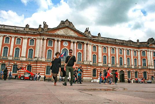 Le Capitole o Ayuntamiento de Toulouse