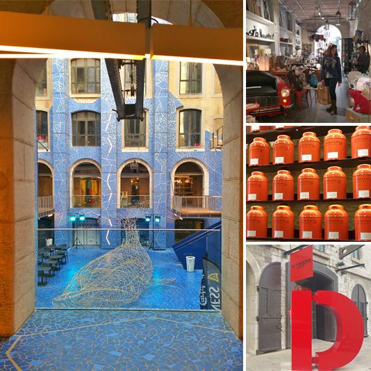Arquitectura y arte en Les Docks