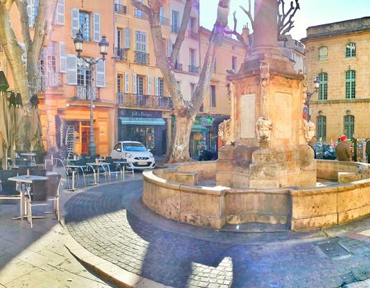 Fuente de la Place de la mairie