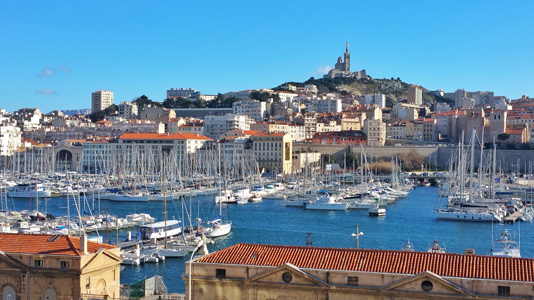 Vieux-Port de Marsella